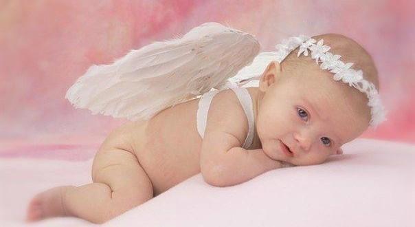 девочка ангелочек